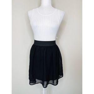 Forever 21 Black Skater Skirt
